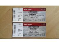 80's stepback concert tickets x 2