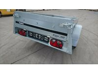 BRENDERUP LIGHT CAR TRAILER 1205S MODEL KIPPI 200, 750KG NEW, VERY GOOD QUALITY