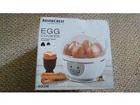 Unused silvercrest 7 egg cooker - RRP £20