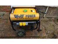 Wolf power 3500 watts Generator
