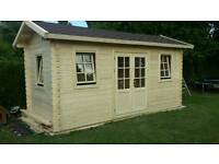 Logcabin summer house