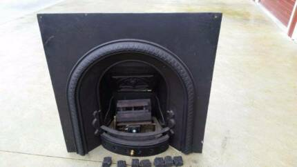 Victorian Fire place with Gas coal fire