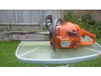 Husqvarna 346xp high rpm professional chainsaw excellent 160 psi compression