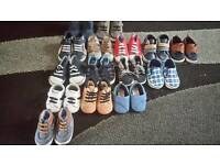 Baby boy soft soled shoes