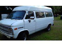 RHD GMC/Chevvy G20 Van ( with A Team bullbar)