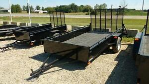 2016 Advantage 6x12 Steel Utility Trailer - Ramp (LS612) London Ontario image 3