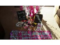 Birthday Girl Decorations with Photo props and option of adding 21st decorations and props