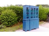 Stunning, Vintage Dresser. Shabby Chic, Blue/Green. Delivery Available.