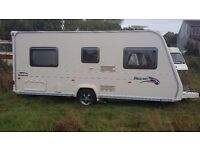 BAILEY BORDEAUX 4 berth fixed bed 2008m with remote mover