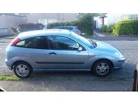 Light Blue Automatic Ford Focus with Low Mileage