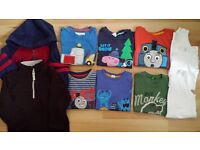 Bundle of Boy's Tops 18 - 24 Months