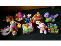Baby toys Vtech, Lamaze, little tikes etc