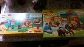 2 lego duplo sets
