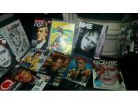 40 David bowie magazines rare and sought after all mint