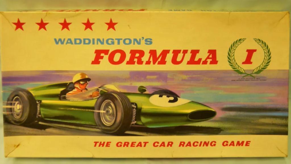 Waddingtons Formula 1 - Vintage 1960's Boardgame -