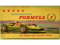 Waddingtons Formula 1 - Vintage 1960's Boardgame -