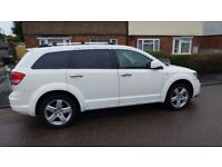 exclusive DODGE JOURNEY R/T 2.0 CRD VW ENGINE 7 SEATS NEW (500 miles) CAMBERBELT & filters, oil