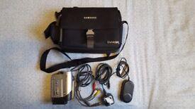 Samsung VP-DC161 PAL 3.5inch Dual Layer DVD Camcorder