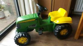 John Deere Rolly Ride On Pedal Tractor