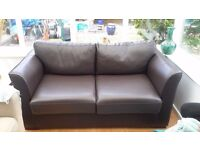 Leather Sofabed