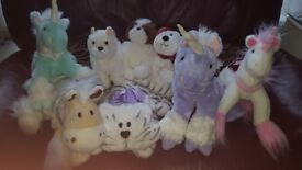 Bundle of Unicorns and teddies.All in excellent clean condition.