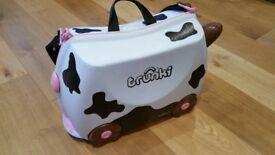 Trunki Child's Wheeled Suitcase - Friesian Cow