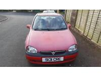 Vauxhall Corsa for Sale, No MOT, needs a little repair or spares and repairs