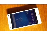 White Sony Xperia Z3 Compact Phone