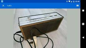 Vesta 102 antique radio 1960's - RARE. working. wireless