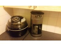 Visicook airchef aircooker and delta coffe machine