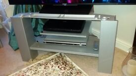 Grundig TV and Stand Silver Colour model number WF82 3020