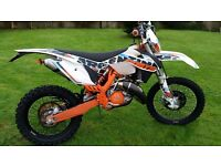 Ktm 125 exc 6days 2015 50 hours from new 1054 miles
