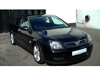 VAUXHALL VECTRA 1.9 DIESEL 2005. 150000 MILES. MARCH MOT. BLACK. CHEAP TO CLEAR