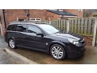 Vauxhall Vectra Estate Black 2007 SRI 19CDTI - Good Condition