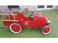 Kids ride along classic fire engine (bought from selfridges)