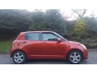 SUZUKI SWIFT AUTOMATIC, 57 REG, 64K MILES, HPI CLEAR, 5 DOOR, SAME AS YARIS, CORSA, MICRA, FOCUS