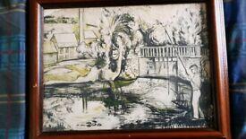 Original Charcoal Sketch