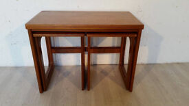 McIntoch Teak Triple Nest of Expanding Table