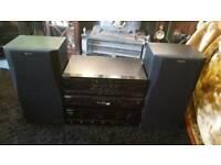 Sony F170 HiFi sound system