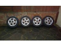 4 x mag road wheels 2114017102 Genuine Mercades Benz