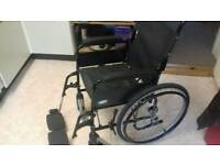 Folding adult wheelchair