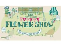 2x Royal Hampton Court Flower Show tickets 8/7/17