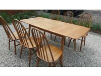 Priory extending table. similar to Ercol