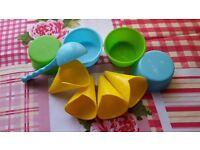 ICE CREAM SET /9-piece toy kitchen utensil set