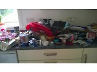 5 pounds entire car boot large job lot household item garden tools paint baking glassware dishes