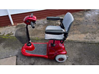 MOBILITY SCOOTER. Midsize 3 wheel 4 mph. Refurb By Bodach Scooters. Profits to Homelands Trust–Fife.