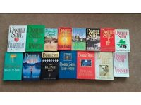 Danielle steel books hard back and paperback