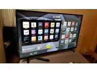 """LUXOR 50"""" SUPER Smart 4K ULTRA HD TV-LUX0150007/01,built in Wifi,Freeview HD,NETFLIX,GREAT Condition"""