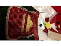 Brand new girls welsh costume age 3-4 years