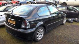 BMW E46 316i COMPACT 2002 - *BREAKING*